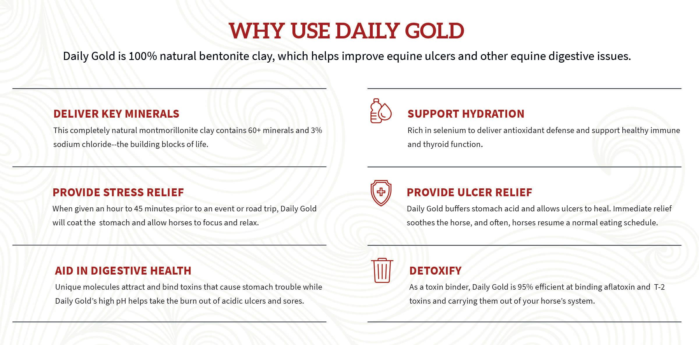 Daily Gold - why use it