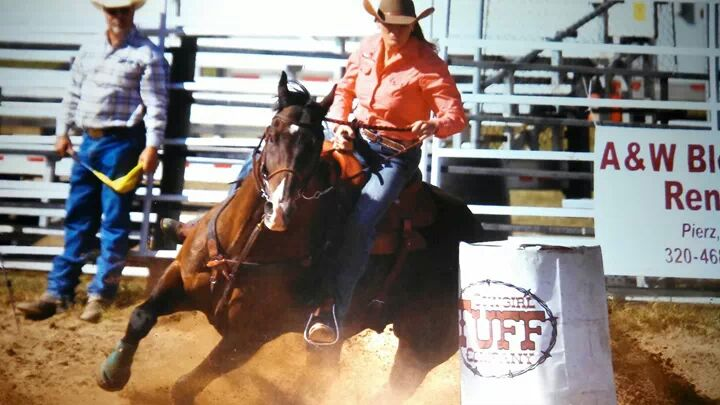 A Redmond Story: Daily Gold Healed Ulcers in Kara's Barrel Horse